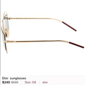 SM sunniest just like these Dior's